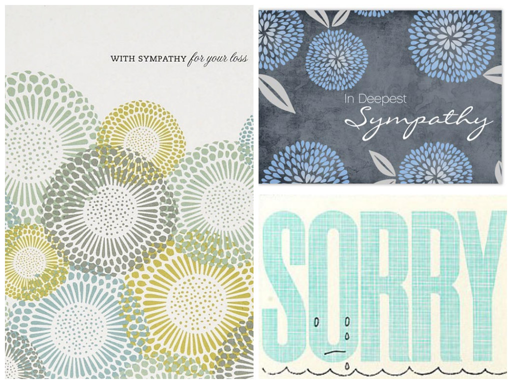 How to write a sympathy note modern loss collage sympathycards izmirmasajfo