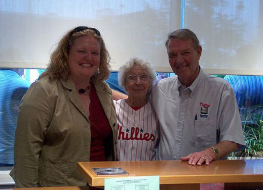Grandmom Harry Kalas Phillies Modern Loss