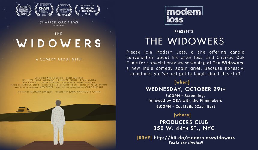 "Modern Loss presents ""The Widowers"""