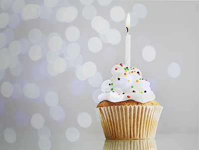 Birthday Cake Modern