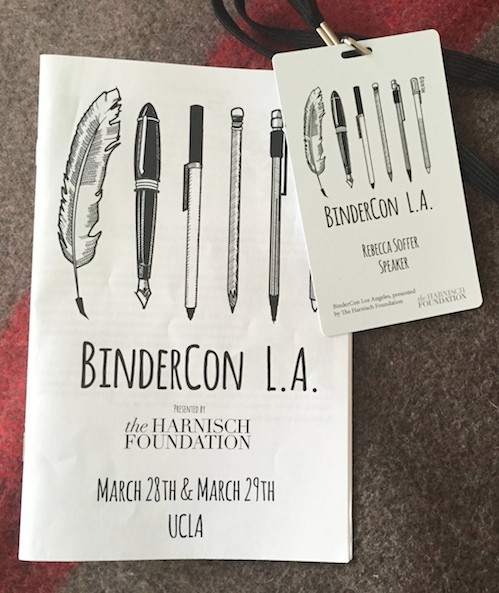 Bindercon Pamphlet