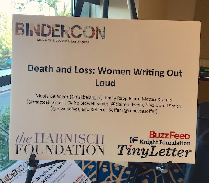 Bindercon Poster