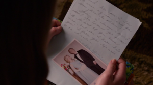 Betty Draper letter to Sally