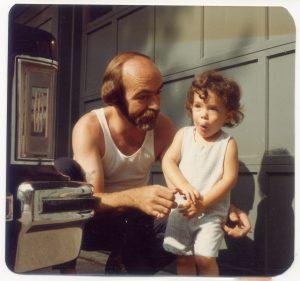 Ryan and Dad toddler
