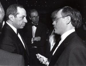 Jeff Schmaltz and Mario Cuomo