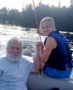 Rachel and her dad