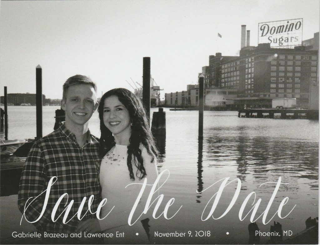 Saving the Date for a Wedding That Will Never Take Place