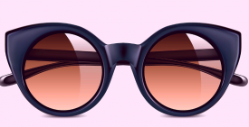 Big Black Sunglasses Modern Loss