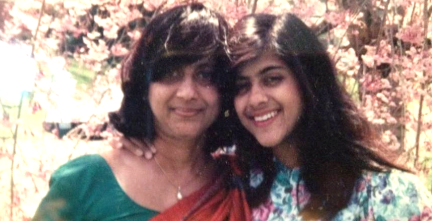 Saira Rao and her mother, Greenie (Modern Loss)