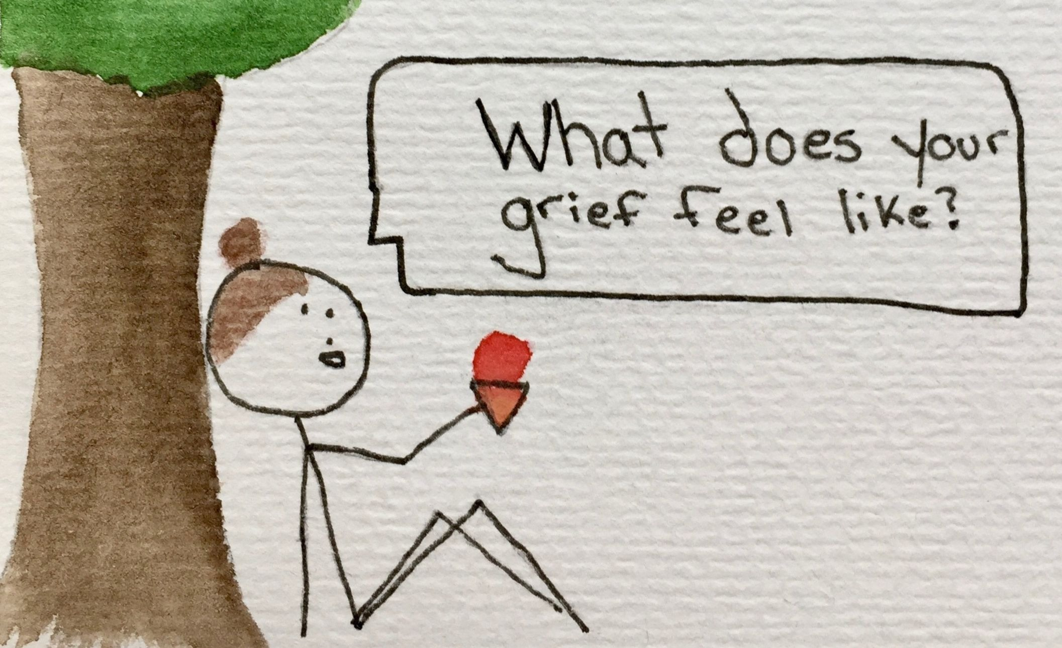 What My Grief Feels Like: An Illustrated Guide - Modern Loss