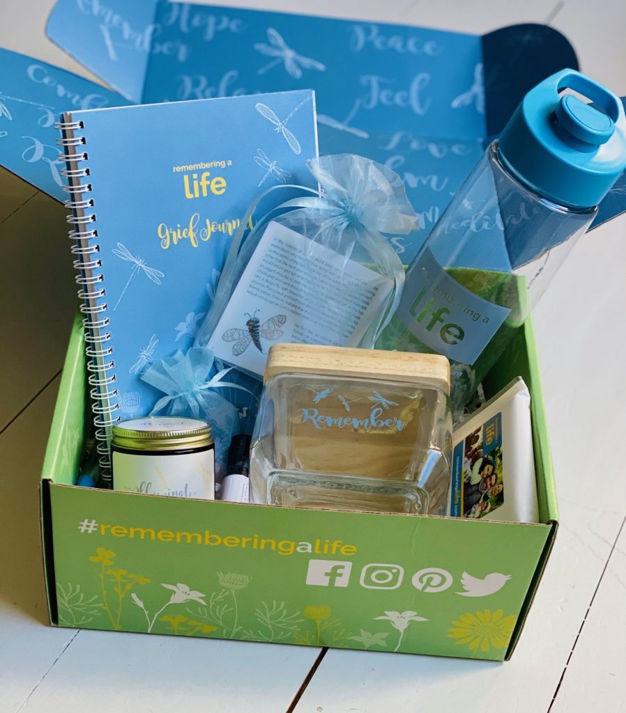 Remembering a Life Self Care box