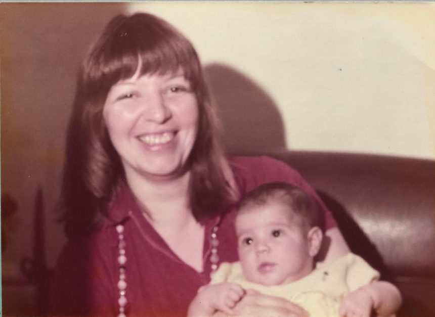 Cynthica and her mom, Dosibel, in 1975